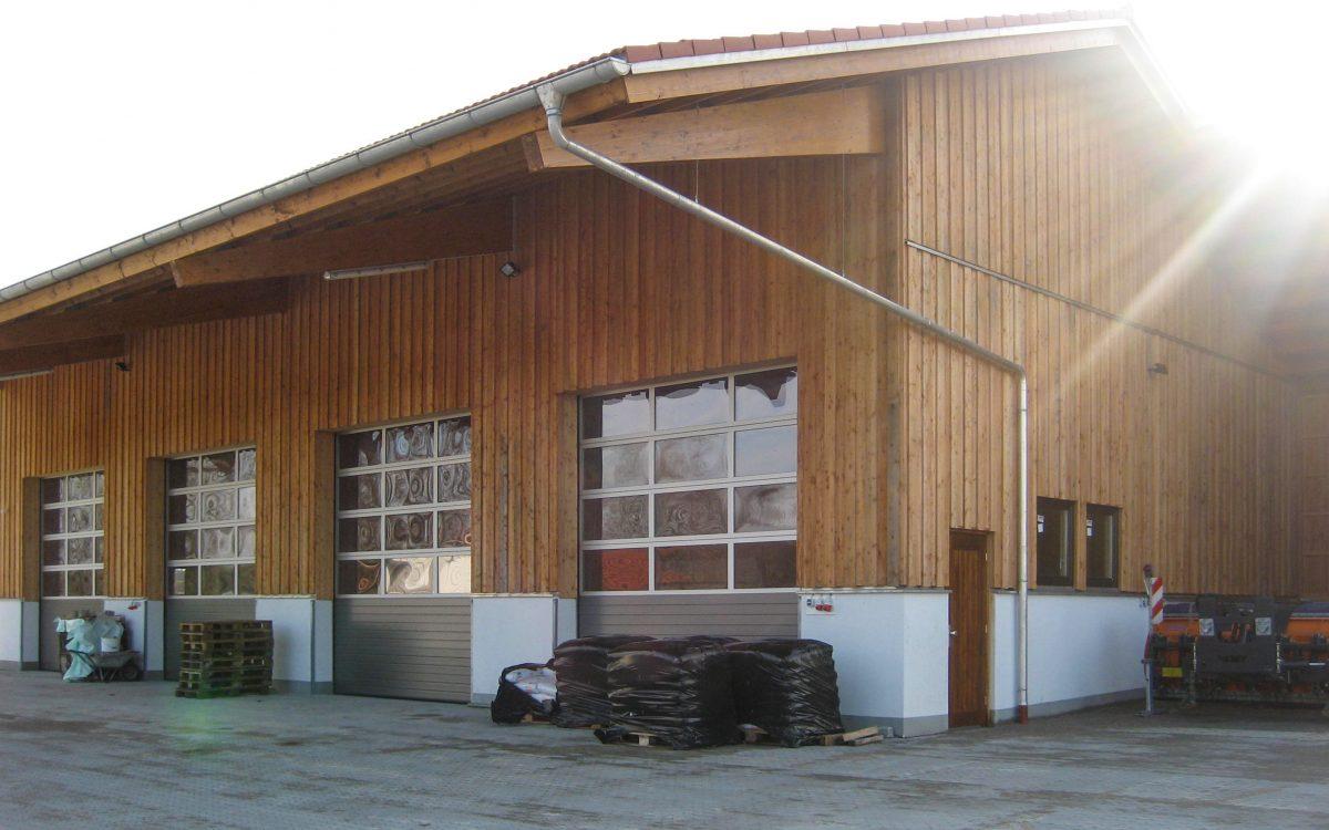 Bauhhof, Fassade
