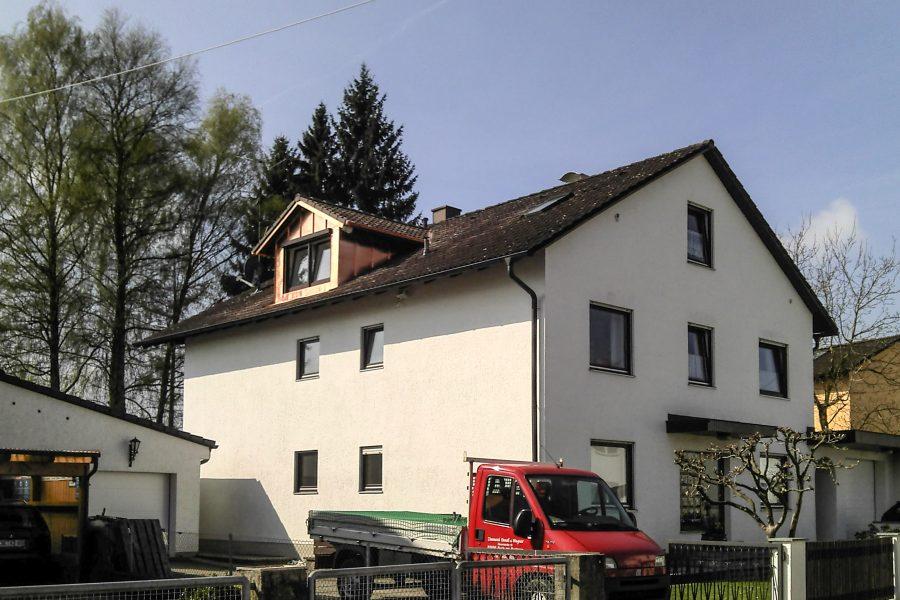 Privathaus, neue Gaube