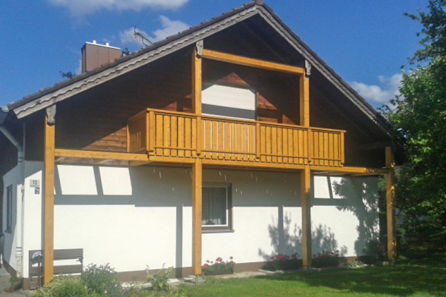 EFH Balkon nachher