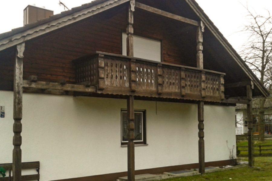 EFH Balkon vorher
