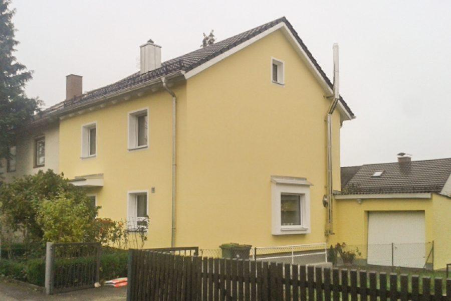 Geissel, Ebersberg, neue Fassade