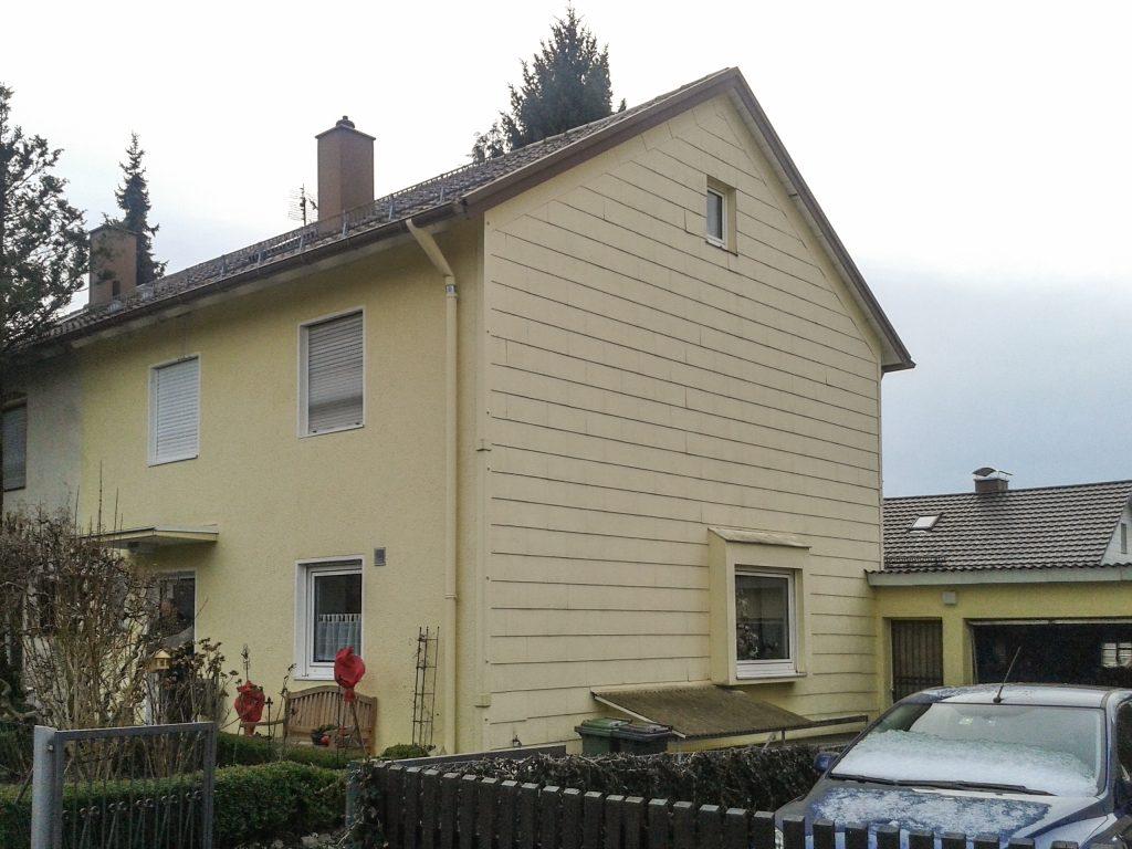Geissel, Ebersberg, alte Fassade