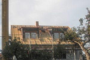 Dachgauben, Baufortschritt