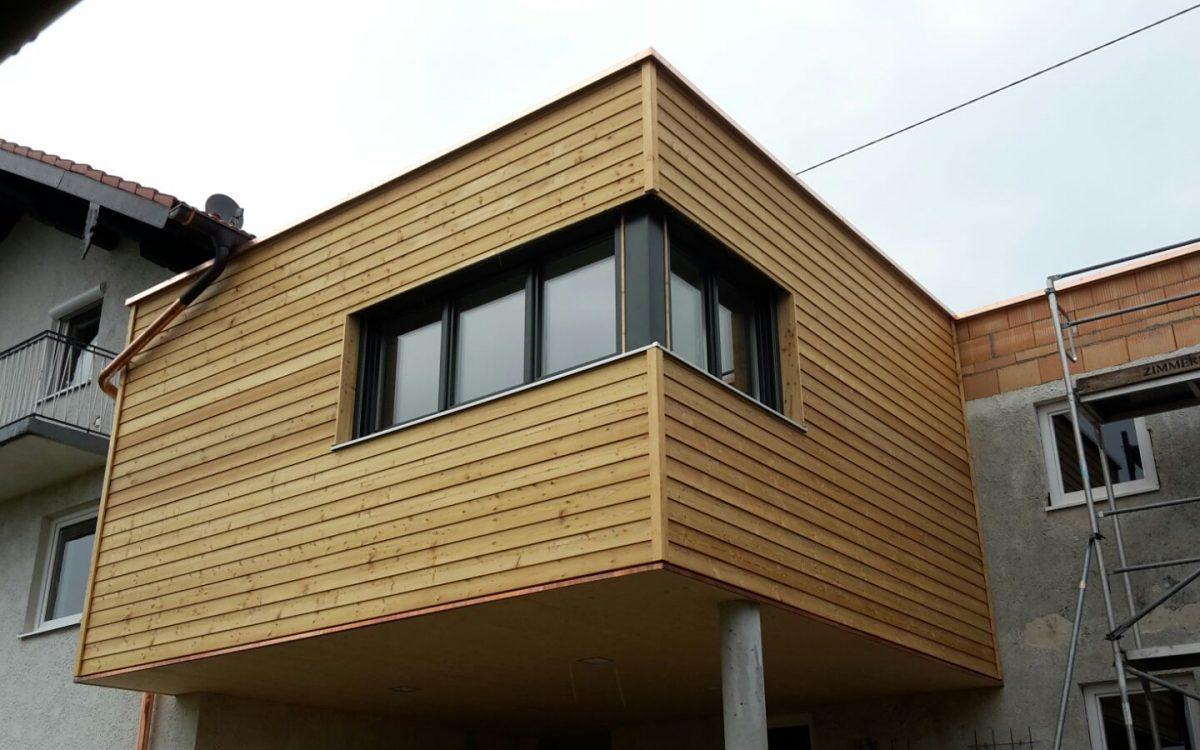 Erweiterung bestehender Wohnraum